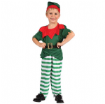 ELF SANTAS HELPER TODDLER FANCY DRESS COSTUME